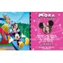 Invitacion Imanes Souvenir Imprimibles Digital Minnie Mouse