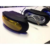 Caminero Foco Neblinero Auto / Moto 12v C/lampara Jgox2 Nvos