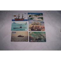 Barcos Y Aviones,serie De Tarjetas Extranjeras..