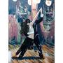 Lámina 45 X 30 Cm. - Clases De Baile - El Tango