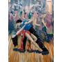 Bailando Tango - Bailes Y Danzas Tipicas - Lámina 45 X 30 Cm
