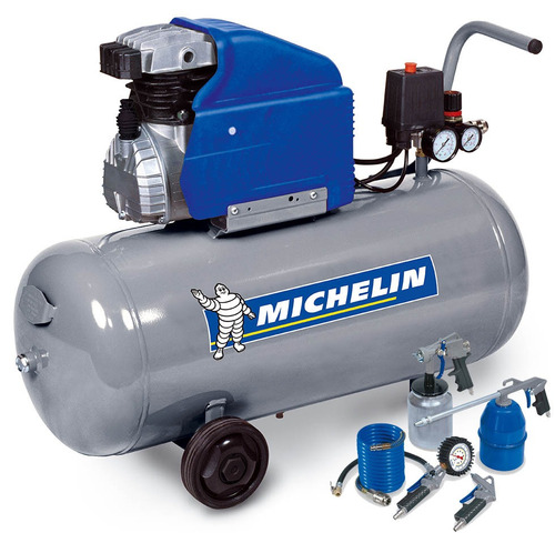 Compresor de aire michelin 50 lts 2hp kit de aire us 319 - Compresor aire precio ...