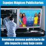 Espejo Magico Publicitario - Alto Impacto, Bajo Costo