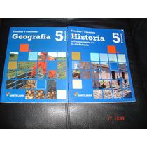 Primaria Santillana Historia Y Geografia 5 Estudiar Y C X 2