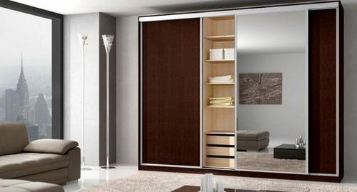 Mueble a medida placar ropero vestidor dormitorio for Muebles de dormitorio uruguay
