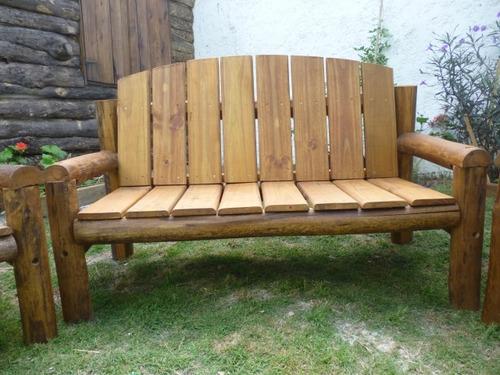 juego sillones madera tratada piscinas patios jardn deck en melinterest