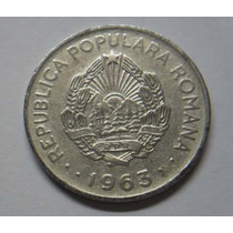 República Popular De Rumania 1 Leu Año 1963 Dominio De Urss