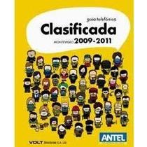 Guía Telefónica Clasificada Montevideo 2010-2011
