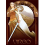 Signo Del Zodiaco Virgo Astrologia - Lamina 45 X 30 Cm.