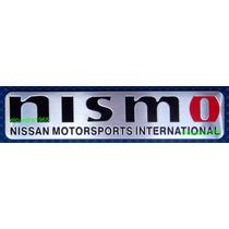 Emblema Insignia Logo Nismo Nissan Motorsport International