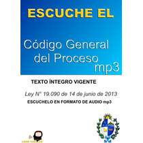 Codigo General Del Proceso En Formato De Audio Mp3.