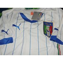 Camiseta Italia Mundial Puma Talle S Sin Numero O 21 Pirlo