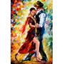 Tango - Imagen Abstracta - Baile Musica - Lamina 45 X 30 Cm.