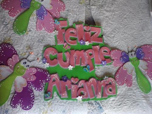 2b1c329d876 Carteles Goma Eva Para Cumpleaños Ò Fiestas Infantiles. Precio    380 Ver  en MercadoLibre