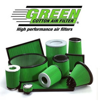 Green Cotton Air Filter Sport - Competicion - Made In France