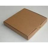 Caja De Pizza De 42 X 42 Cm. En Carton Marron