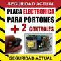 Portones Electricos, Corredizo, Vasculante, Placas $ 1900