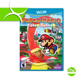 Paper Mario Color Splash Wiiu Wii U