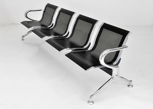 Sillas tandem 4 asientos salas espera consultorios oficina for Sillas escritorio uruguay