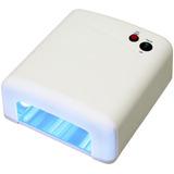 Lampara Uv Timmer Y Fusible Secador De Uñas Ultravioleta Gel