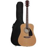 Guitarra Folk Fender Fa100 Con Funda Y Afinador