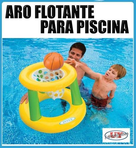 Juego Aro De Basket Inflable Para Piscina Nuevo 390 En Melinterest