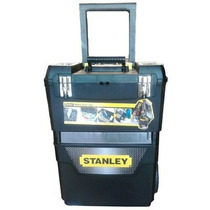 Caja Herramientas Carro Doble Stanley Reforzada Broche Metal
