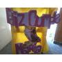 Cartel Feliz Cumple!! Atras Torta Centros De Mesa Souvenir
