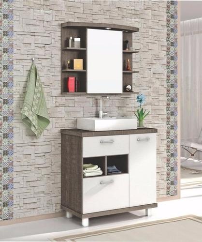 Mueble p ba o espejo botiqu n 80 cm lotus ceramicas for Mueble botiquin bano