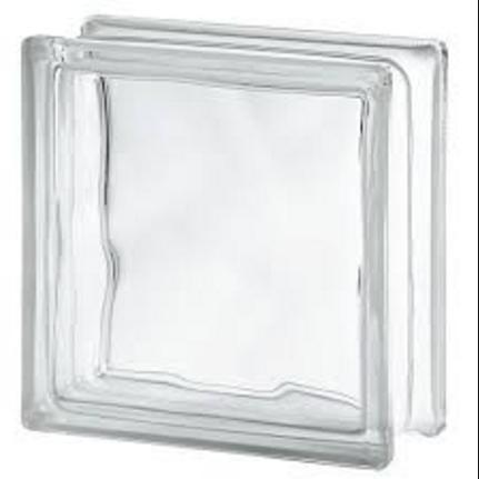bloque de vidrio ladrillo de vidrio trasparente