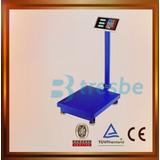 Balanza 300 Kg Hierro Digital Plegable Plataforma