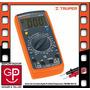 Tester Digital Prof Con Medidor De Temperatura Truper Mut-39