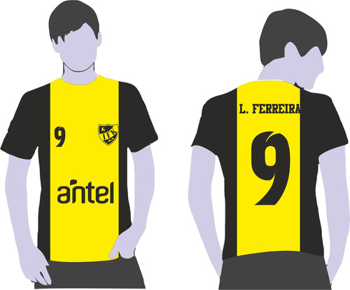 Camiseta Remera Dry Fit Para Equipamientos Fútbol Midas -   390 en ... 30c99e87676b0