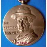 Aparicio Saravia Con Sombrero Somos Fuertes Seamos Unidos.-