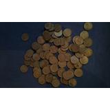 Lote De 60 Monedas Uruguayas De 50 Cent De 1960