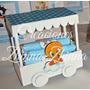 C.zhinna Candy Bar Tren 3 Vagones Looney Tunes,