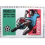 Osl Sello Aéreo 372 Uruguay. Mexico 1970 Mundial Fútbol