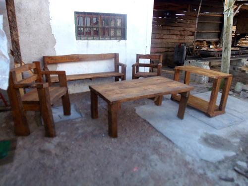 Muebles Rusticos (Juegos de Jardín) a UYU 100 en PrecioLandia Uruguay