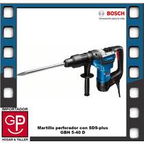 Martillo Perforador Con Sds-plus Gbh 5-40 D 1.1w Bosch