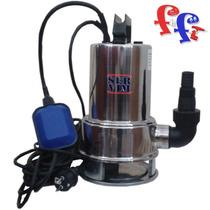 Bomba Sumergible 750 W Ac. Inox Aguas Sucias C/ Interruptor