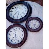 Reloj Pared Tipo Antiguo 30 Cm Regalo Empresarial Afe