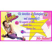 Invitaciones Soy Luna Pokemon 10 X 50 En Venta En Aires