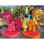 Centros De Mesa My Little Pony Cotillon Cumpleaños