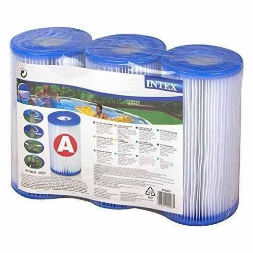 Pack de filtro a de bomba intex para piscina oferta for Precio alberca intex