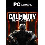 Call Of Duty Black Ops 3 Pc Español / Digital Deluxe + Dlc's