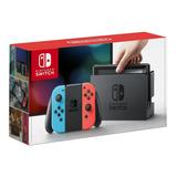 Nintendo Switch 32gb + Vidrio Nuevo Y Sellado Easybuy