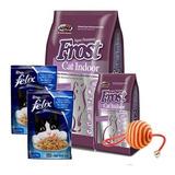Frost Gato Cat Indoor 8,5kg + Promo -ver Foto + Envío Gratis