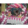 Decoración Temática Para Cumpleaños De Minnie Bebé