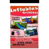 Alquiler De Castillo Inflable, Cama Elástica Algodón De Az..