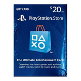 Tarjeta Digital Playstation Network 20 Usd- Mercadouy